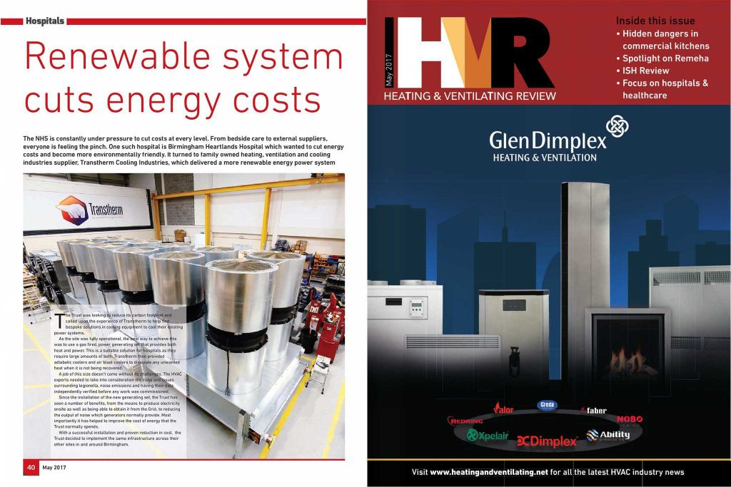 Renewable system cuts energy costs